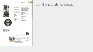 Serparating discs